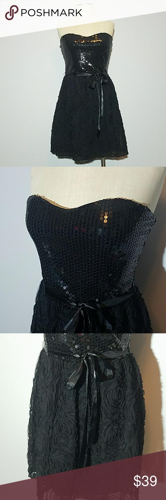Cr sequin rose print prom dress in posh picks pinterest