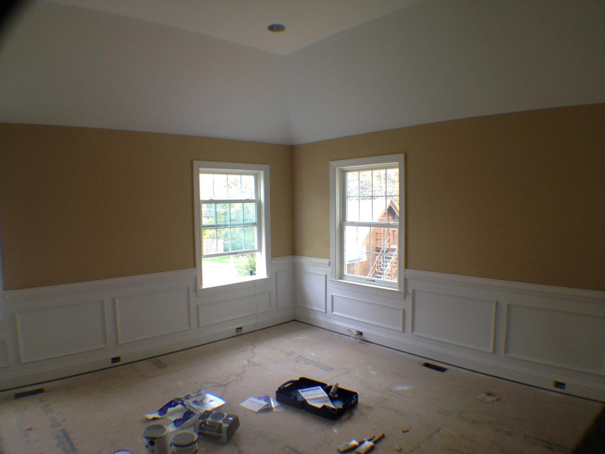 Chair Rail In Bedroom Part - 28: Master Bedroom With Chair Rail, Tray Ceiling And Shadow Boxing!
