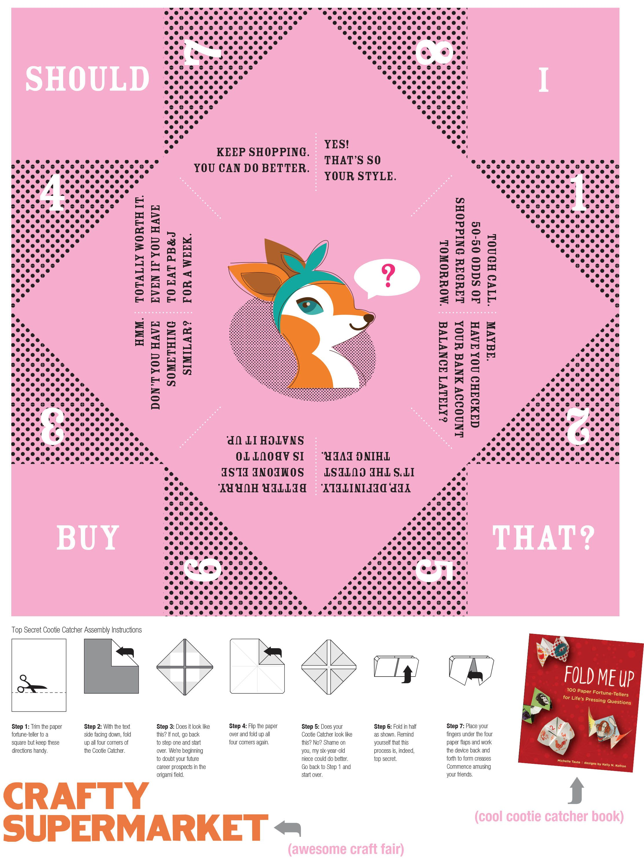 free printable cootie catcher should i buy that paperfortunetellers papercrafts printable. Black Bedroom Furniture Sets. Home Design Ideas