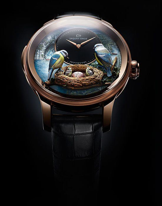 Beauty of Nature Inside the Watch – Jaquet Droz Bird Repeater