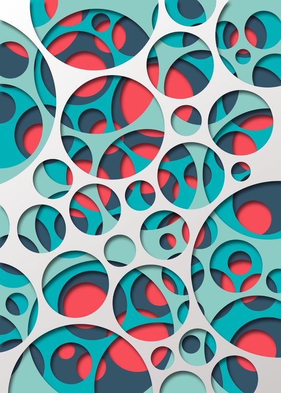 Circle Design Art : Interarea art print generative pinterest