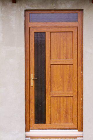Plastic front doors