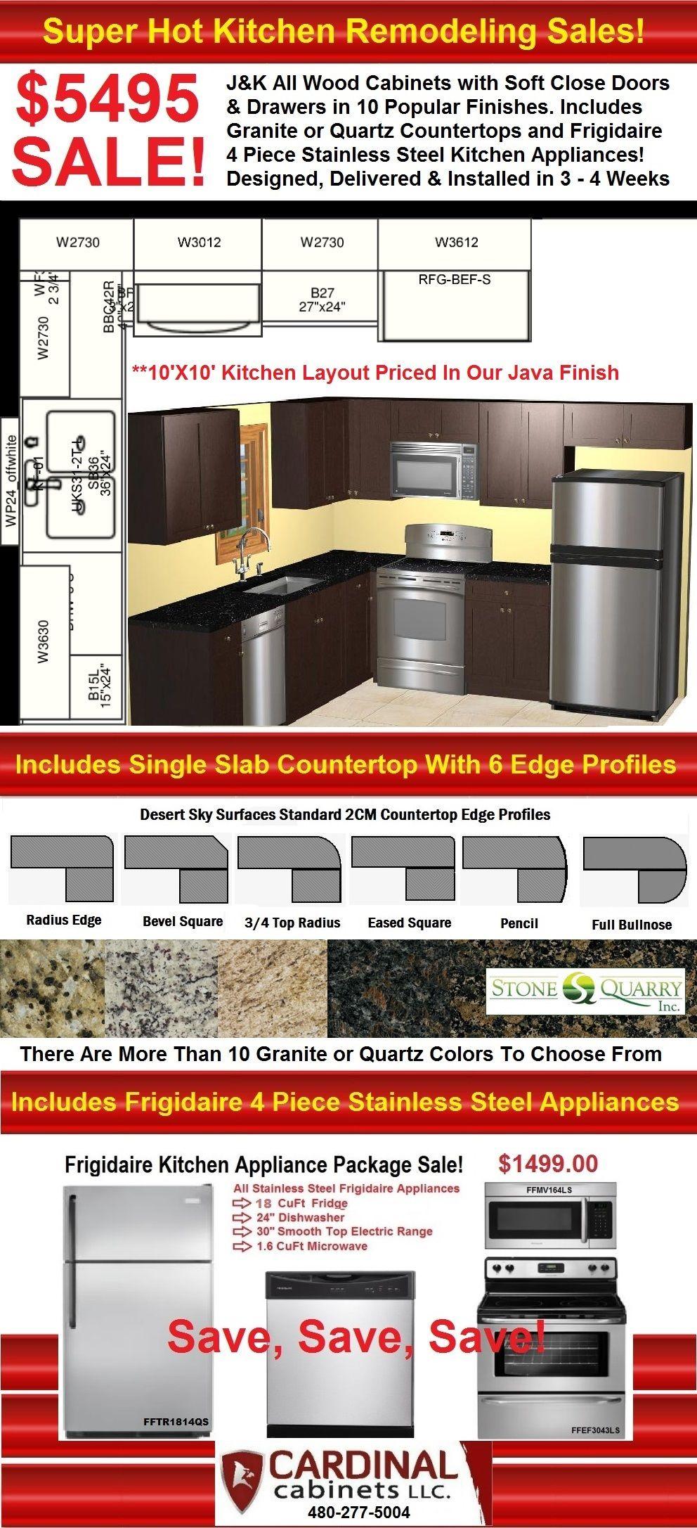 Java Kitchen Cabinets Countertops Appliances Sale Mesa Gilbert - Kitchen cabinets chandler az