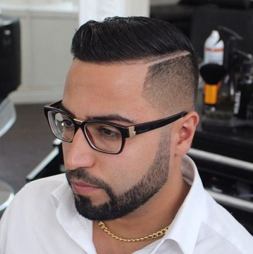 Marvelous 40 Ritzy Shaved Sides Hairstyles And Haircuts For Men Hairstyles Short Hairstyles Gunalazisus