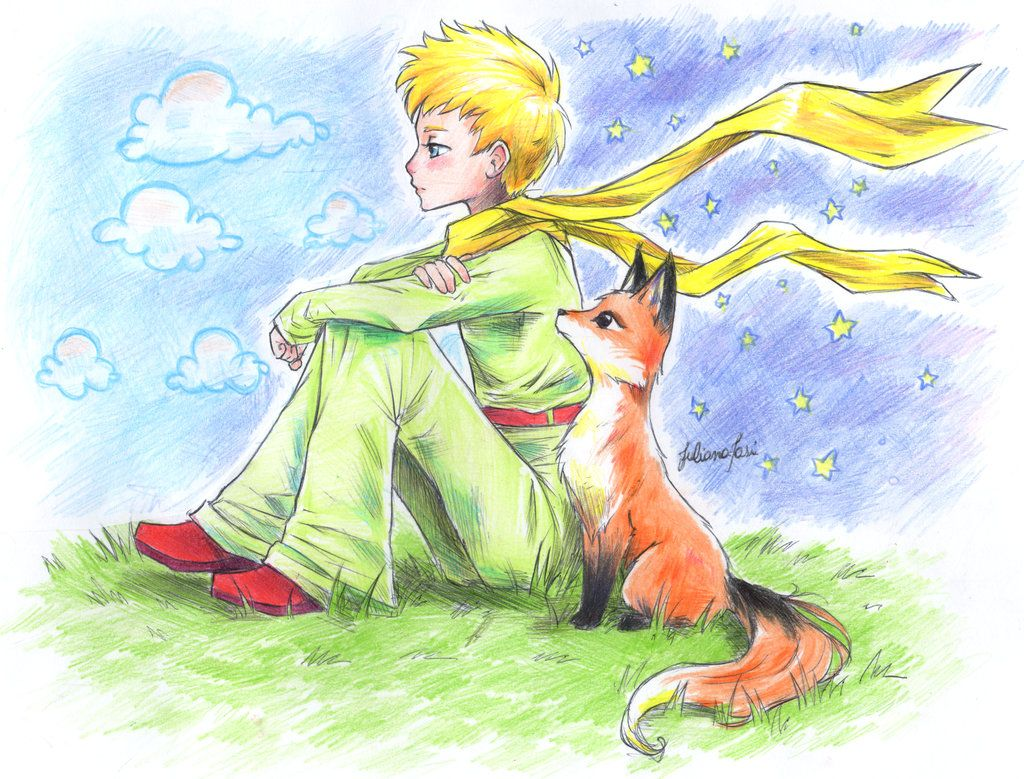 The Little Prince By Lyunna On Deviantart Pequeno Principe