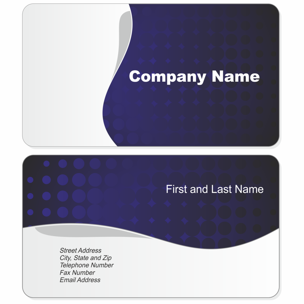 Blank business card template psd best business cards for Photo business card template