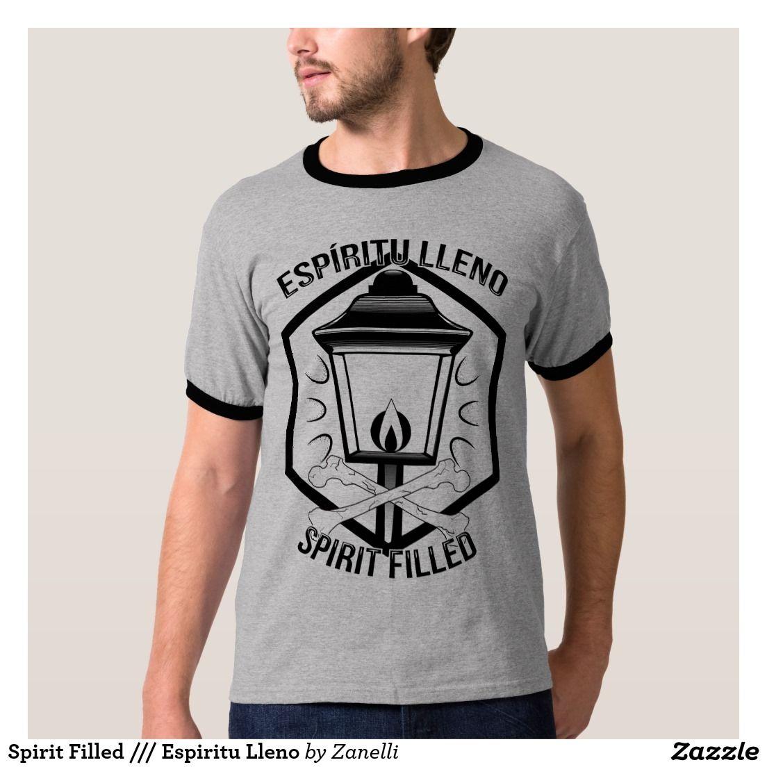 Spirit Filled /// Espiritu Lleno Camiseta