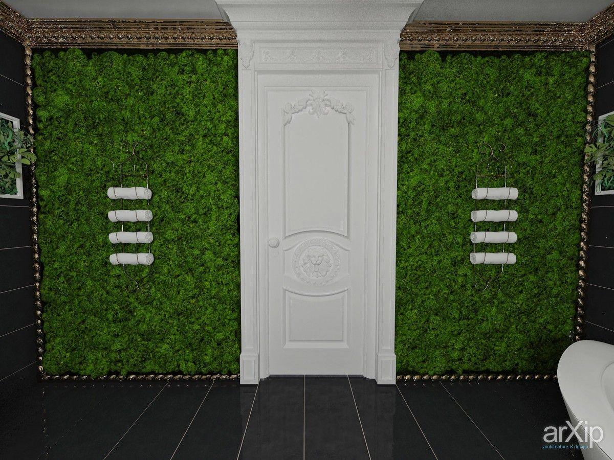 Ванная комната.Вертикальное озеленение.: интерьер, зd визуализация, квартира, дом, санузел, ванная, туалет, ар-деко, 10 - 20 м2, интерьер #interiordesign #3dvisualization #apartment #house #wc #bathroom #toilet #artdeco #10_20m2 #interior arXip.com