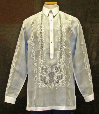 76f7506f22b Traditional clothing in the Philippines. Barong Tagalog   Baro at Saya -  Nationalclothing.org
