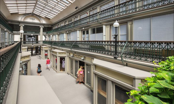 Americas oldest mall now contains 48 charming lowcost