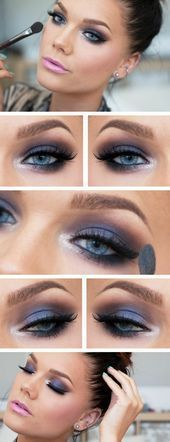 Photo of The secret to the perfect application of Smoky Eye Make-up Smoky Eye … – …