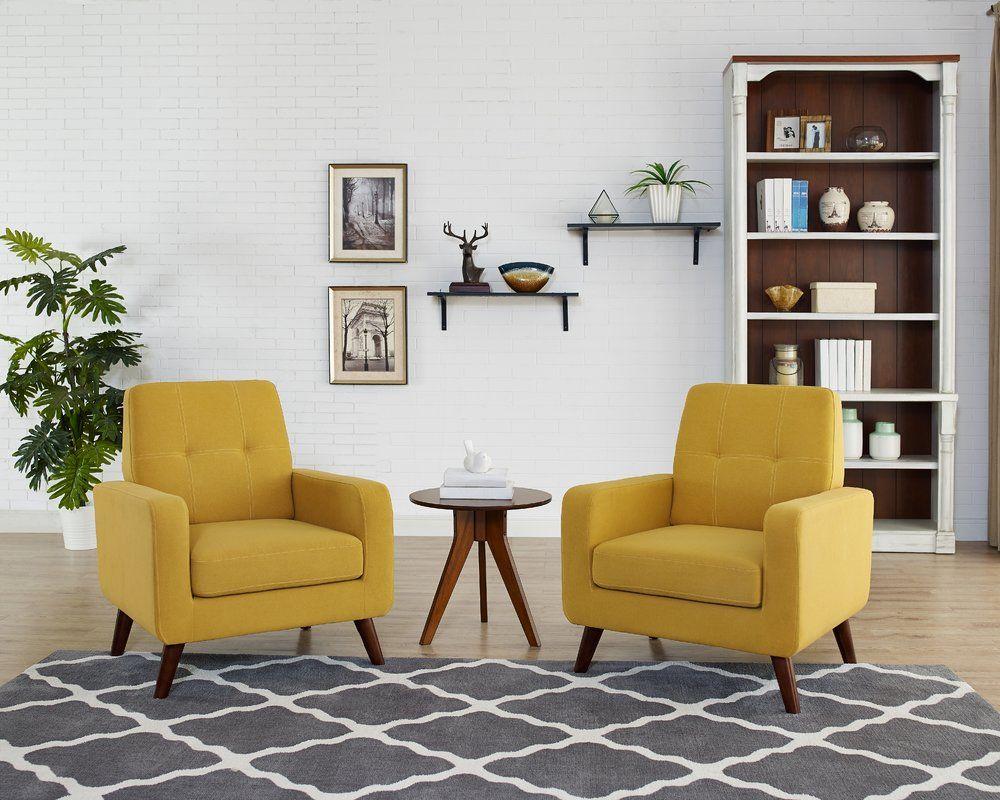 Bumgarner Armchair Arm Chairs Living Room Single Sofa Chair Living Room Chairs