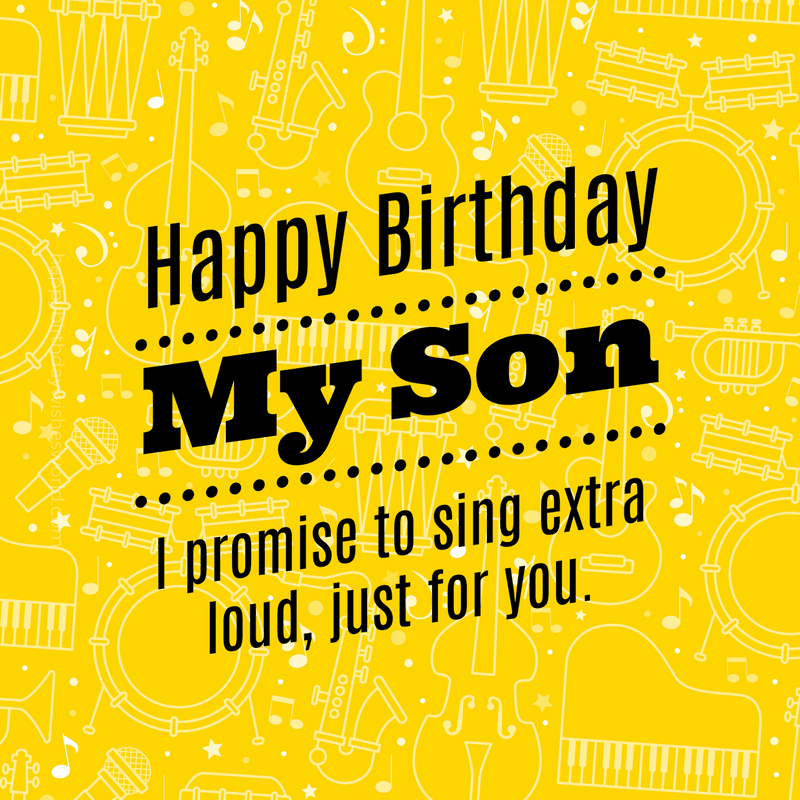 120 Birthday wishes for your Son Lots of ways to say