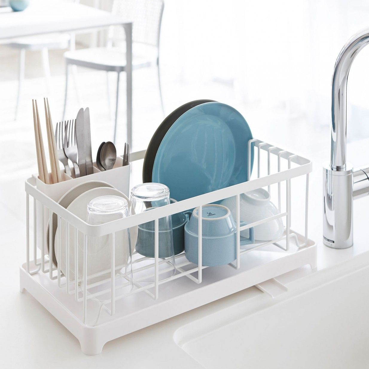 Tower Dish Rack - White | Yamazaki | wollen | Pinterest | Dish racks ...