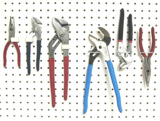 Plier Pegboard Hooks Plastic Pegboard Peg Board Tool Box