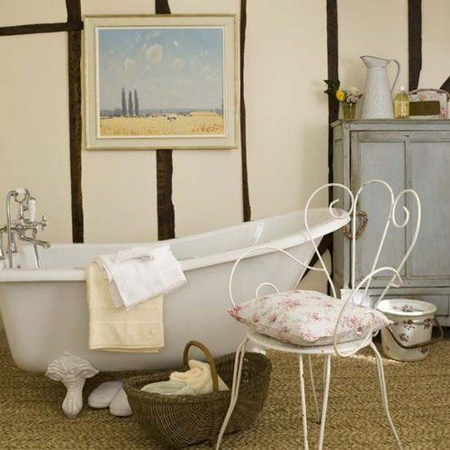 Delicate Country bathroom Pinterest French style, French