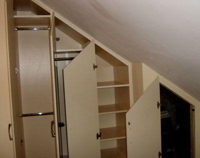 Built In Attic Storage Attic Bedrooms Bedroom Renovation Attic Remodel