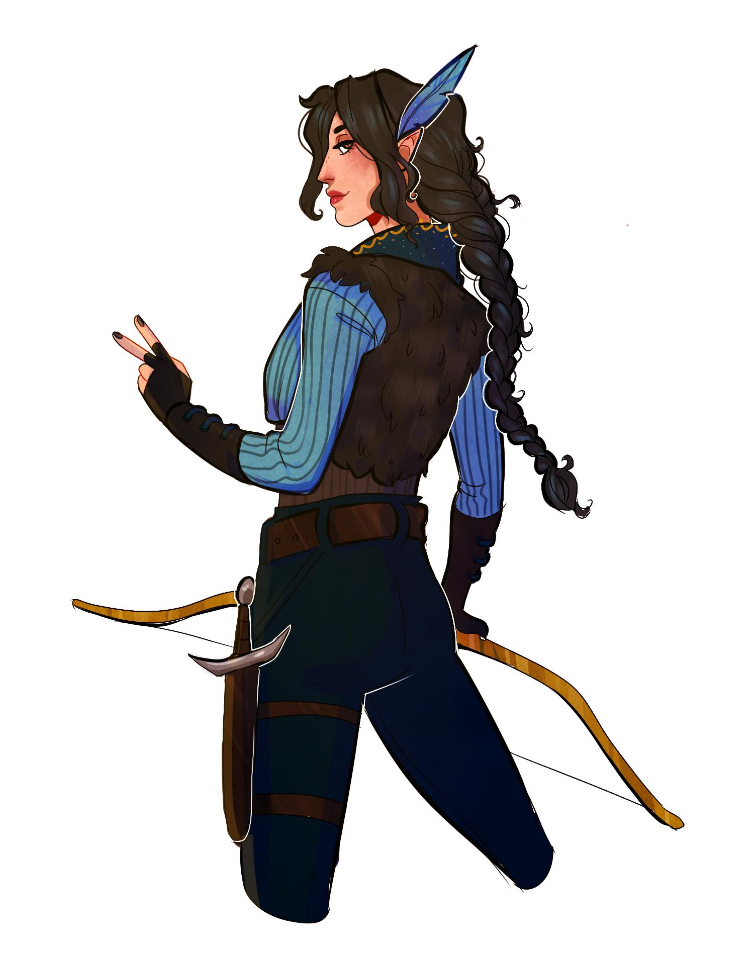 Pin On Critical Role Vex, along with her brother vax, was born in the humble village of byroden due to the union of a human woman named elaina and an elven man named syldor vessar. pin on critical role