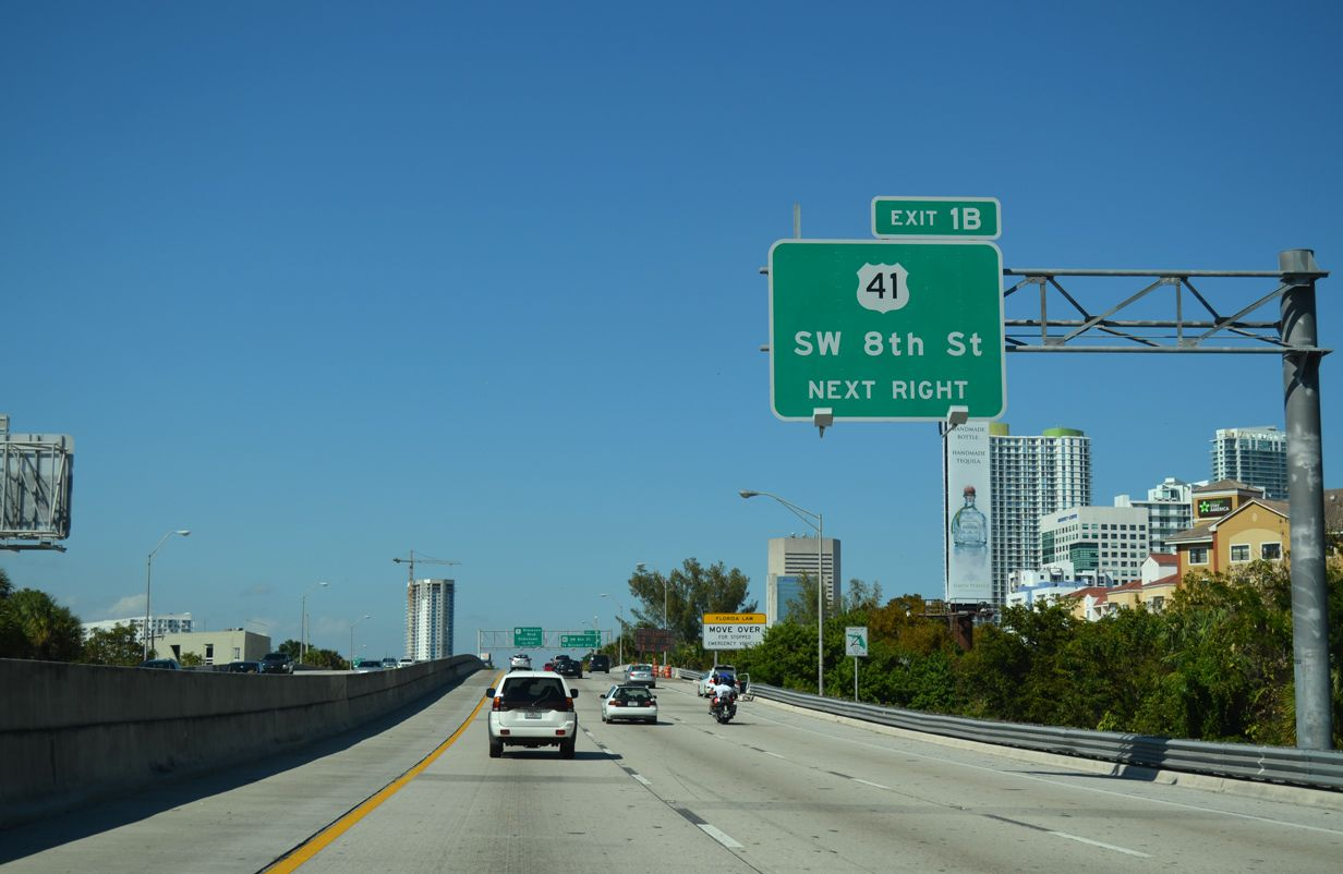 Interstate 95 North MiamiDade County AARoads
