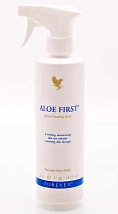 Aloe First Spray Contains Aloe Vera And Bee Propolis To Help