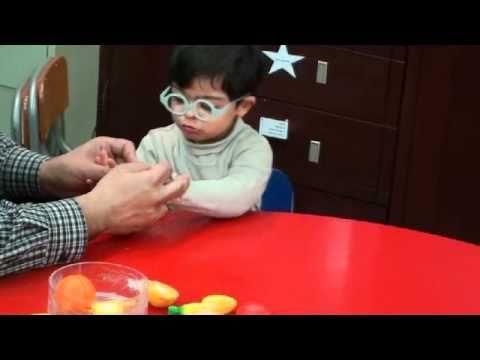 جلسة تنمية قدرات اسامة مدبولي ج ب 13 متلازمة داون Down Syndrome