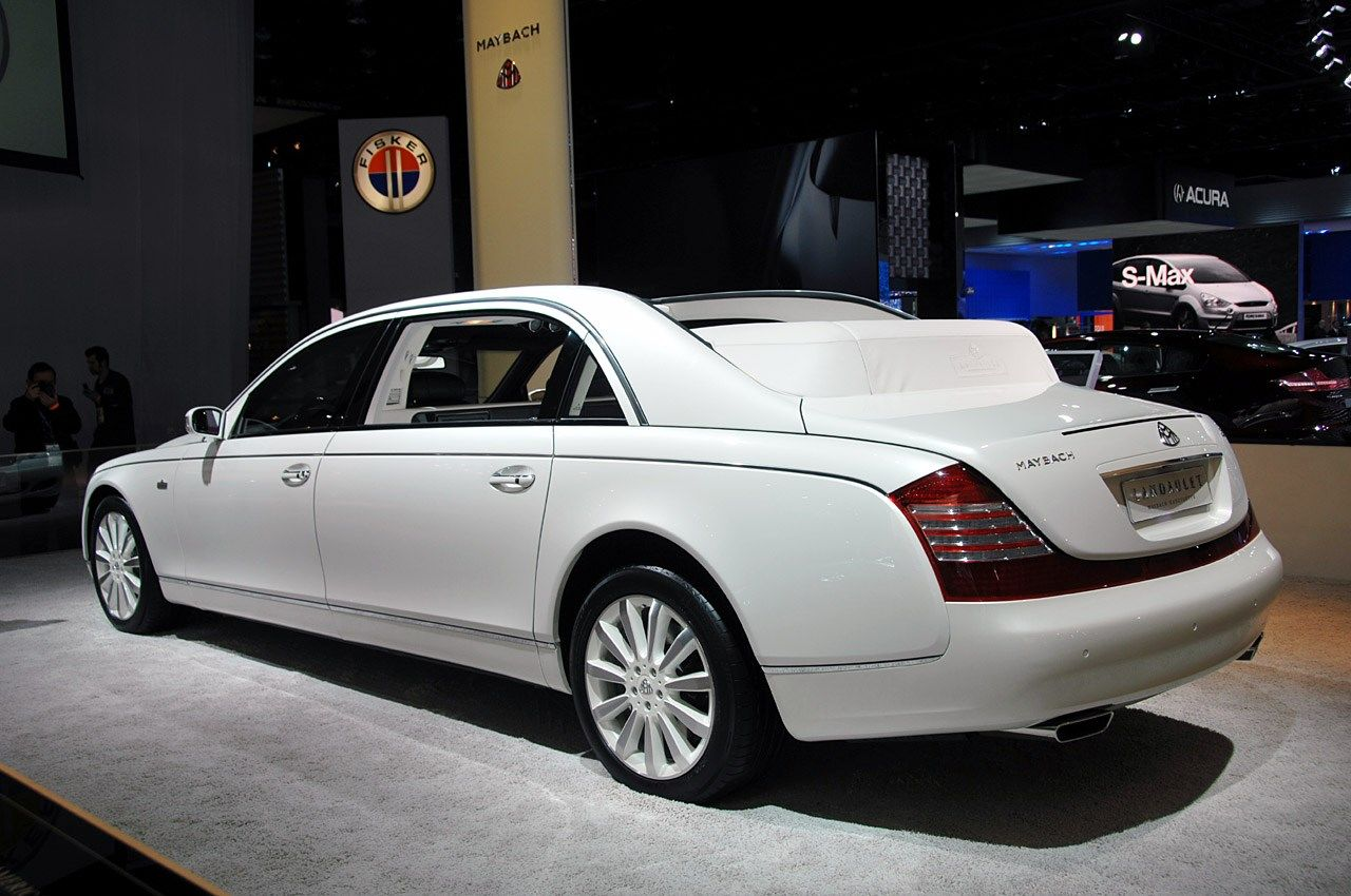 new maybach landaulet wallpaper