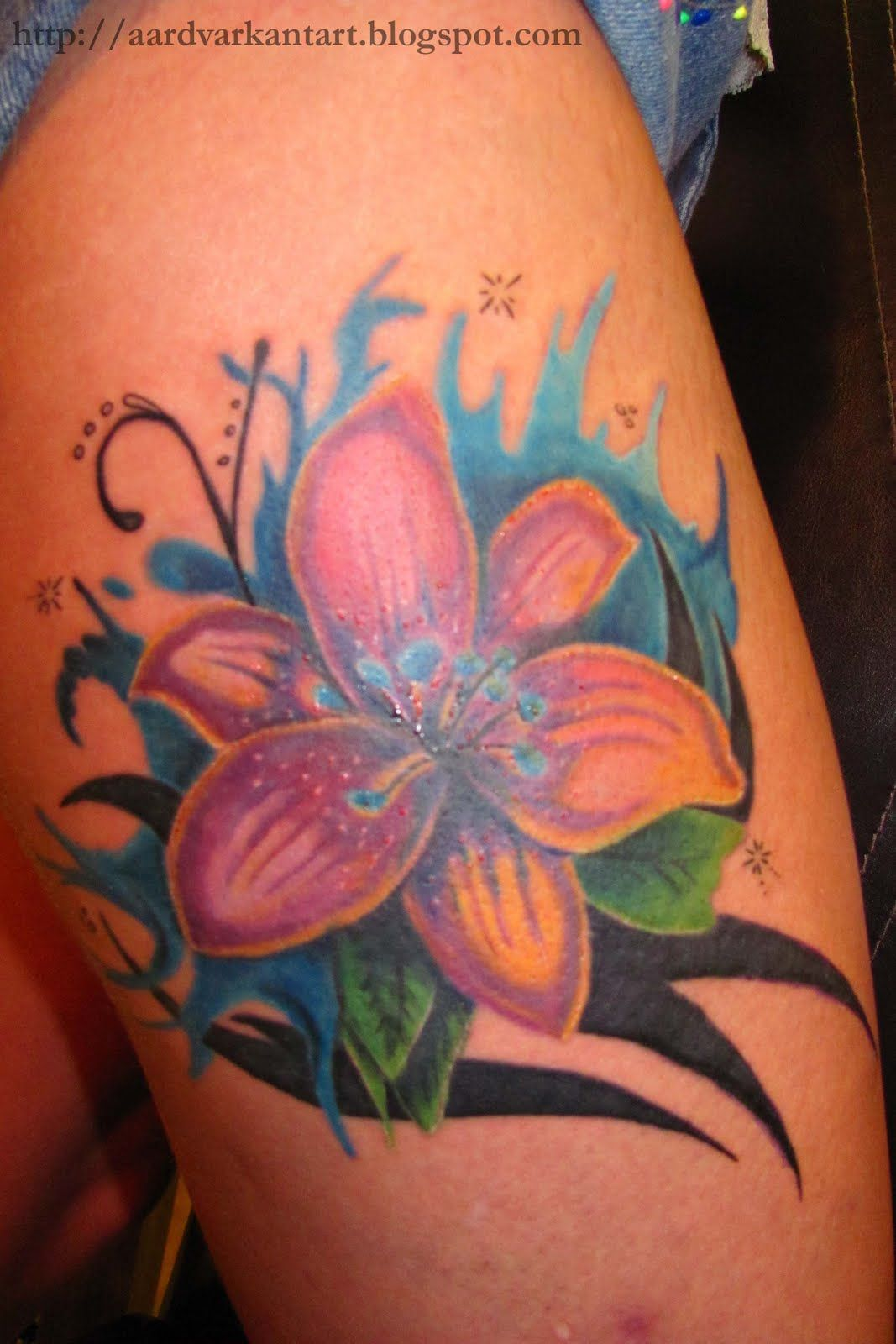 Water Lily Flowers Tattoos Images For Water Lily Flower Tattoo