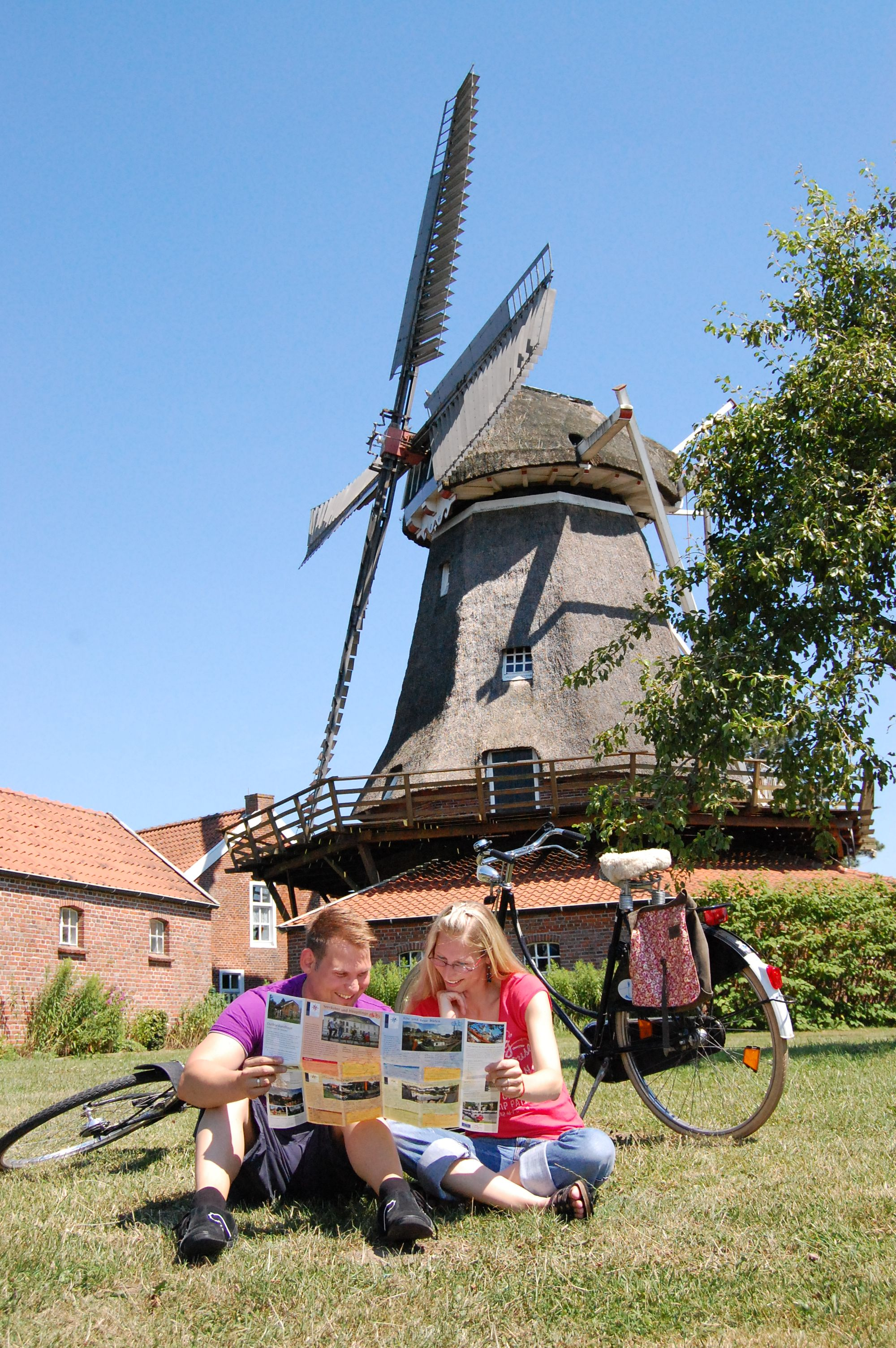 Die Mühle in Mitling Mark in Westoverledingen.
