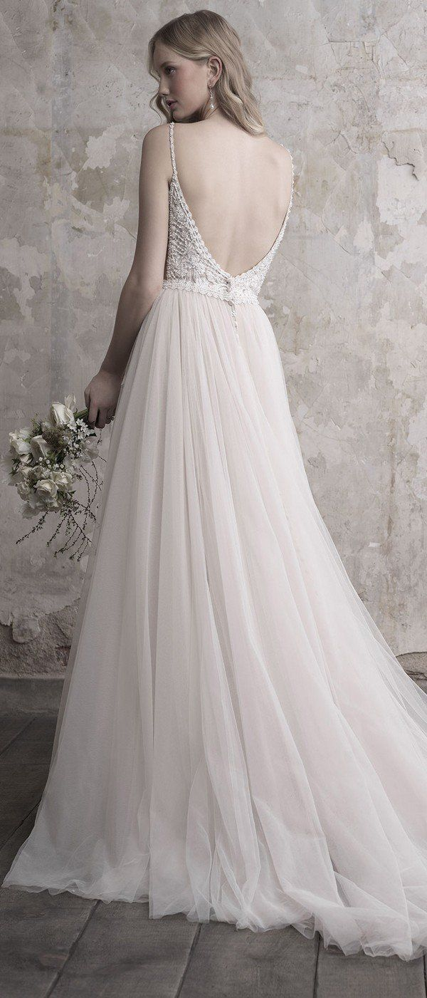 A line tulle wedding dress  Madison James Wedding Dresses  Fall Collection  Page  of