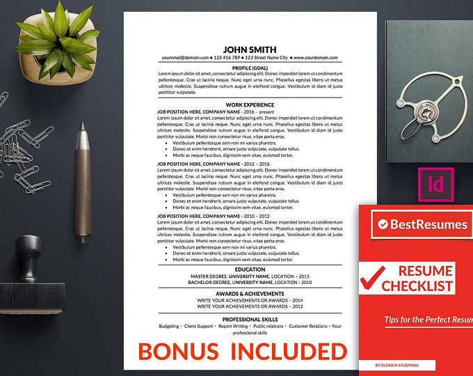 Resume Template Optimised for Applicant Tracking System (ATS