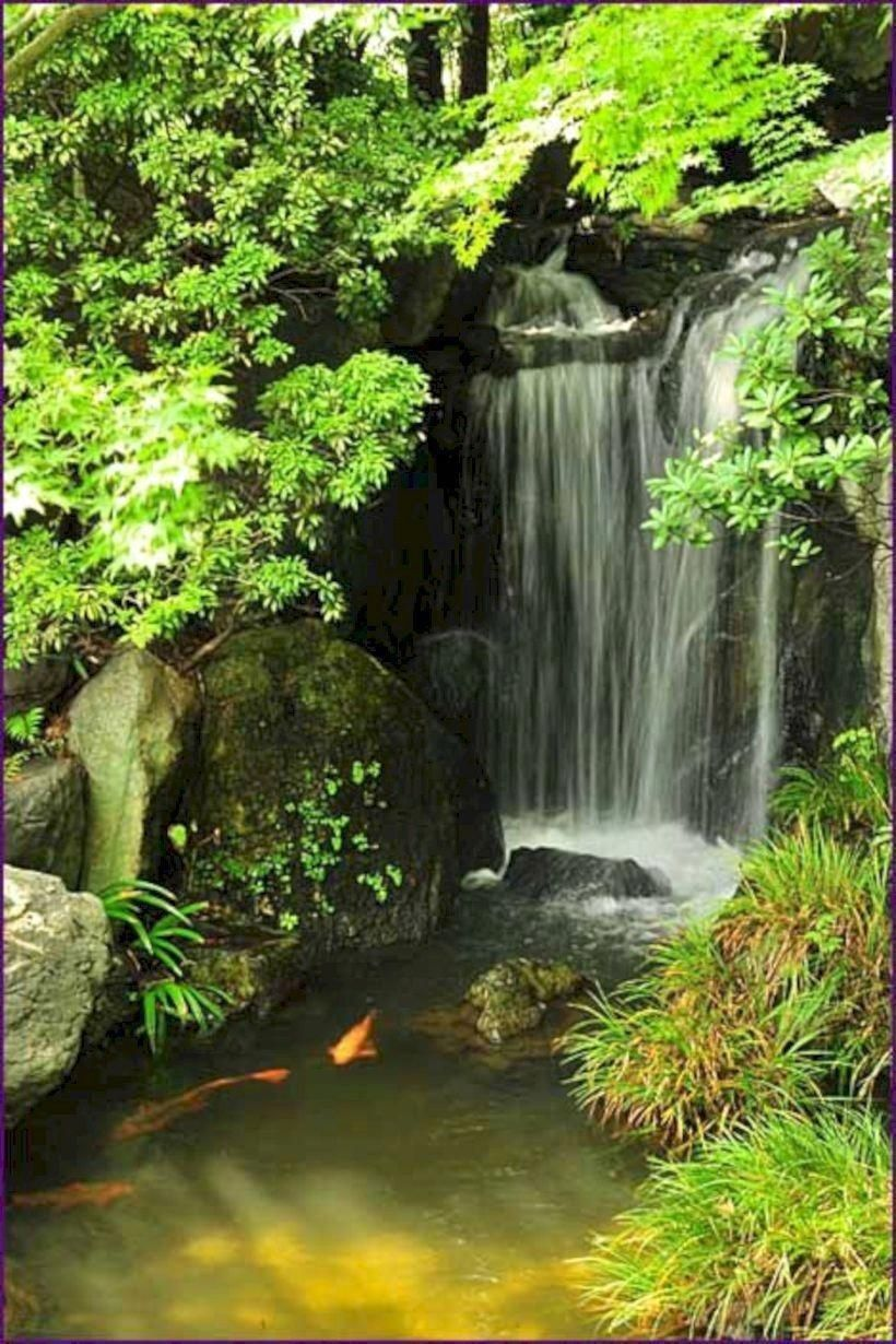47 diy garden pond waterfall ideas waterfalls backyard