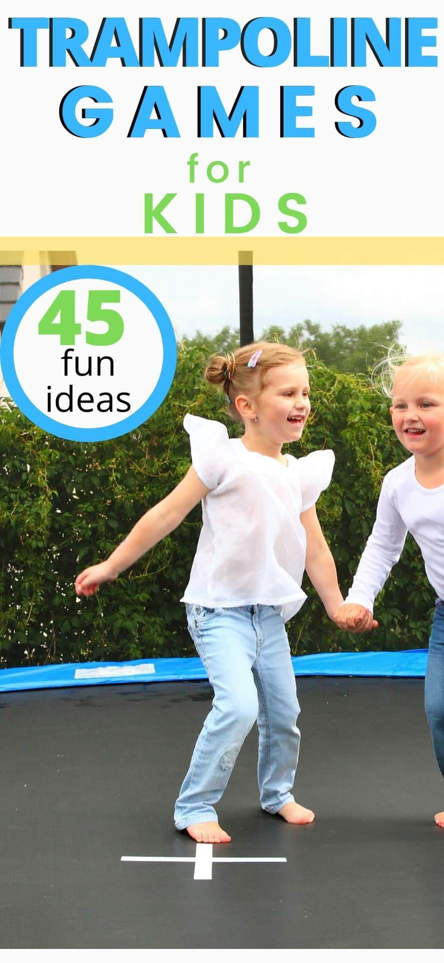 45 Trampoline Games your Kids will Love in 2020