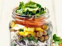 Schicht für Schicht gesund: Salat im Weckglas