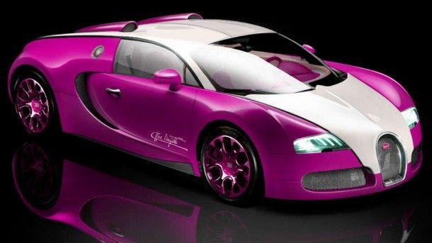 Pink Bugatti Veyron