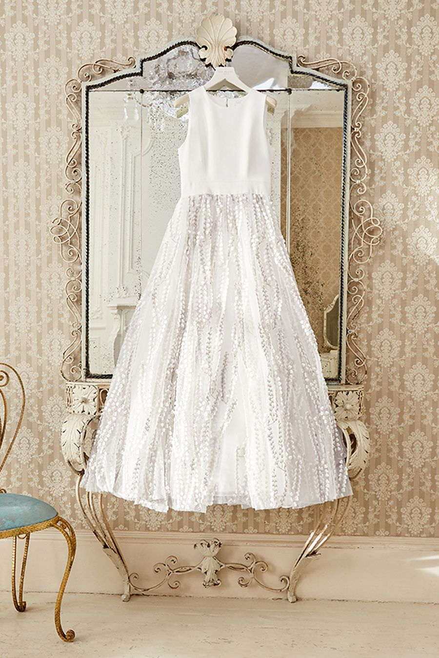 Get Hitched In Ted S Traditional Take Silvya Bridal Boutique Ted Baker Fashion Wedding Dresses
