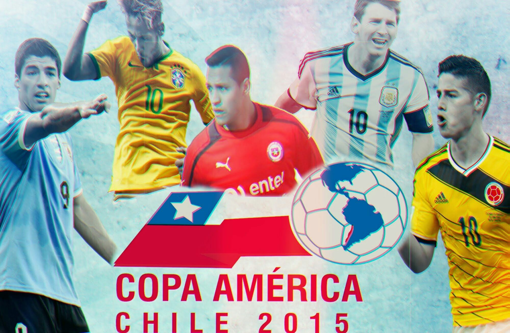 2015 Copa America poster. Rugby world cup, Baseball