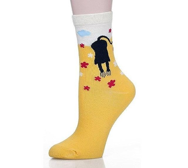 Cute Cat Cotton Socks 5 pairs/lot multicolor