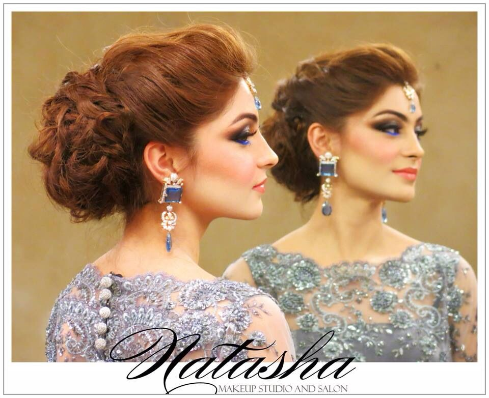 Hairstyles For Mehndi Party : Pretty natasha salon pinterest hair style and