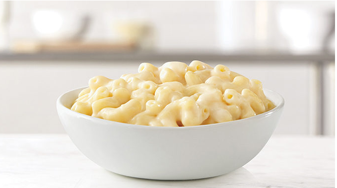 Arby S Whips Up New White Cheddar Mac N Cheese Cheddar Mac And Cheese Mac Cheese Recipes Mac And Cheese