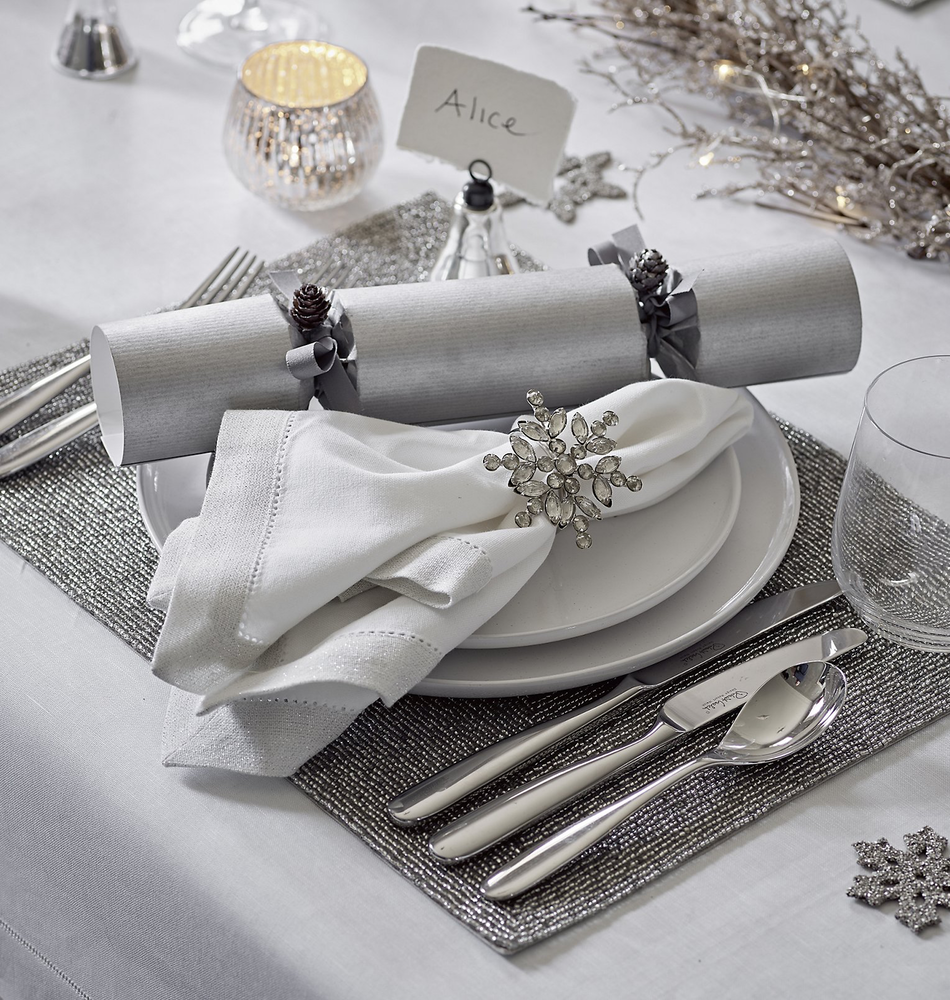 Christmas Table Decorations White Company