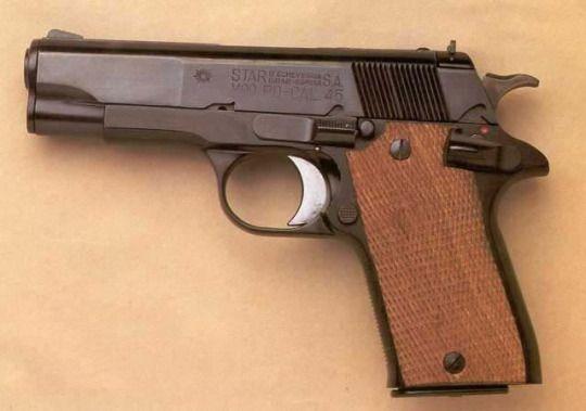 Star Model Pd 45 Acp Revolveres