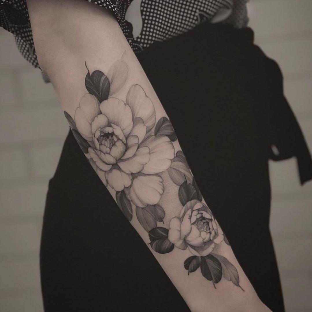 100 best tattoo ideas fine line flowers by in taipei