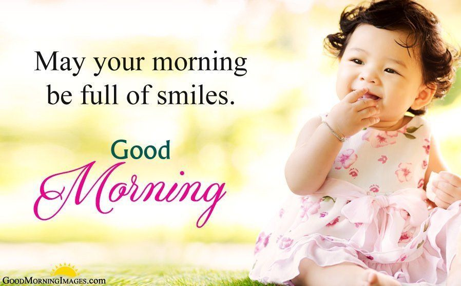 Best Good Morning Status With Baby Girl Pictures Good Morning Baby Photos Good Morning Sunshine Good Morning Picture