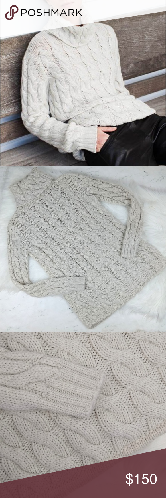 Emerson Fry Chunky Cable Knit Turtle Neck Sweater Emerson Fry Chunky Cable Knit Turtle Neck Sweater Natural Wool color Size XS X-Small Excellent Pre-owned Condition  Loose chunky sweater! Super soft! Emerson Fry Sweaters Cowl & Turtlenecks #emersonfry Emerson Fry Chunky Cable Knit Turtle Neck Sweater Emerson Fry Chunky Cable Knit Turtle Neck Sweater Natural Wool color Size XS X-Small Excellent Pre-owned Condition  Loose chunky sweater! Super soft! Emerson Fry Sweaters Cowl & Turtlenecks #emersonfry
