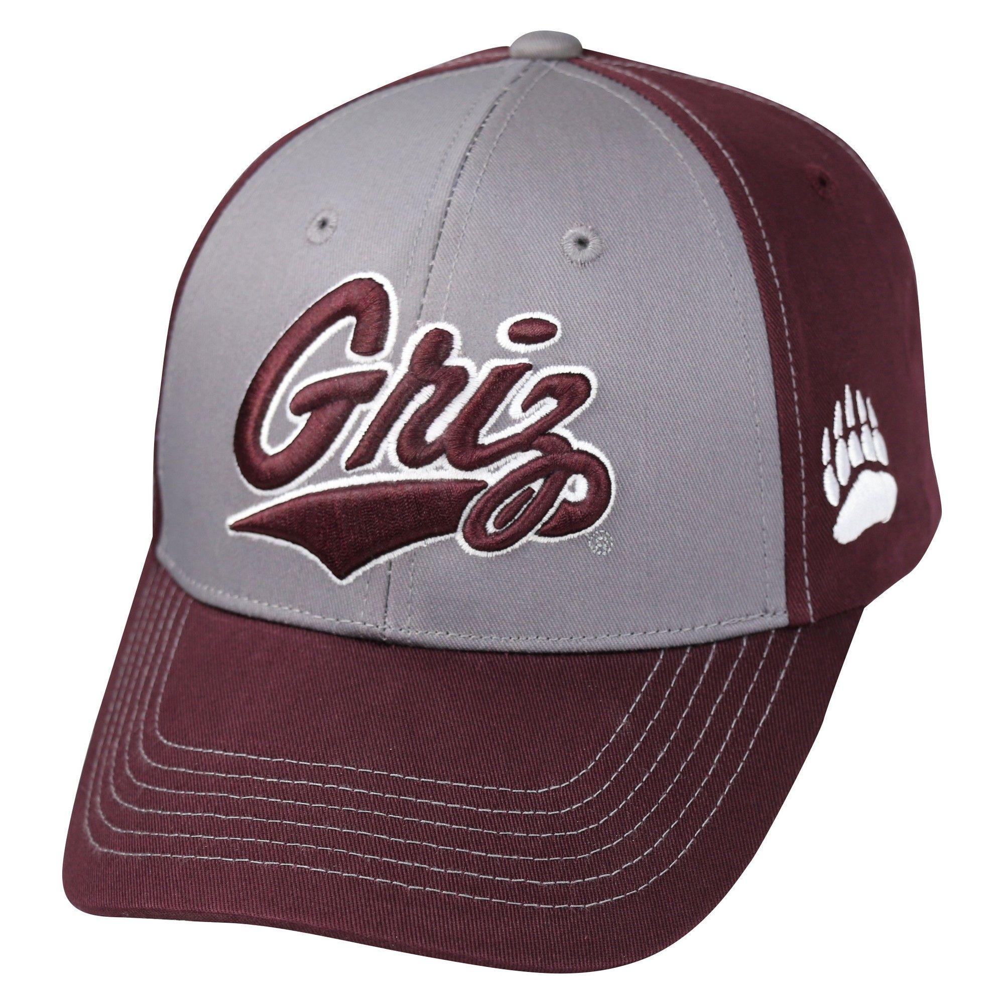7f33151d061 NCAA Baseball Hats Montana Grizzlies