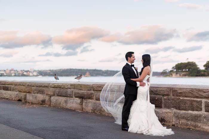 Christine And Paul S Luxurious Sydney Harbour Wedding