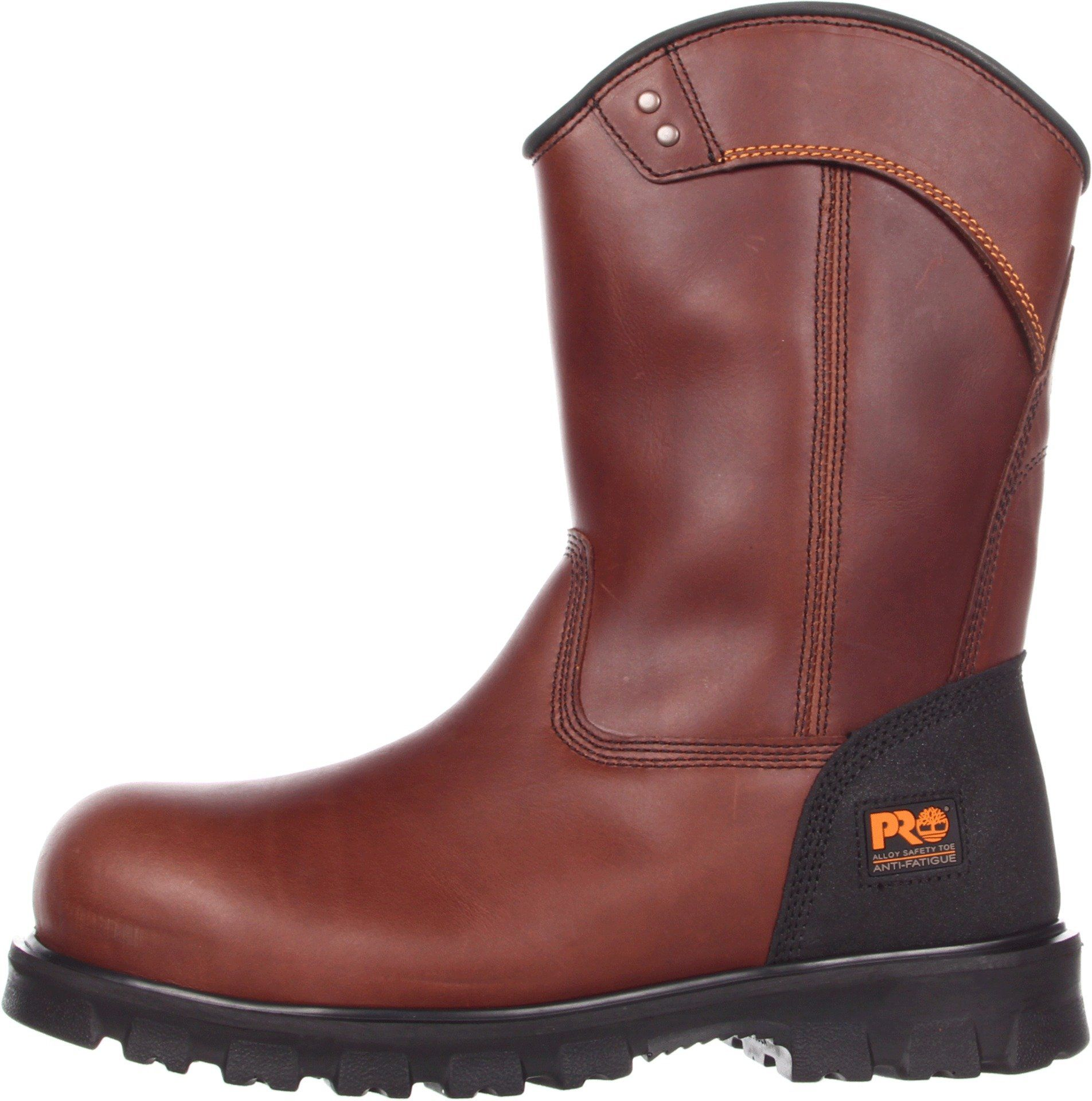 Timberland Mens Boomtown Wellington Safety Toe Brown Boot 5.5 EE Wide **  Visit the image