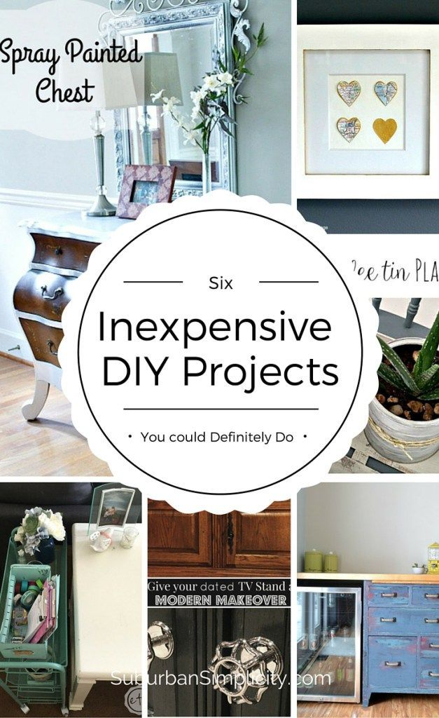 Inexpensive DIY Projects You Could Definitely Do | Repurpose ...