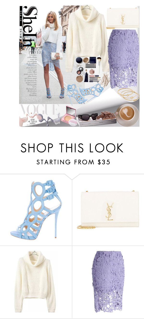 """""""Just another day."""" by ivannnaaa ❤ liked on Polyvore featuring Giuseppe Zanotti, Yves Saint Laurent, Chicwish, Bottega Veneta, By Terry, LIST and Madewell"""