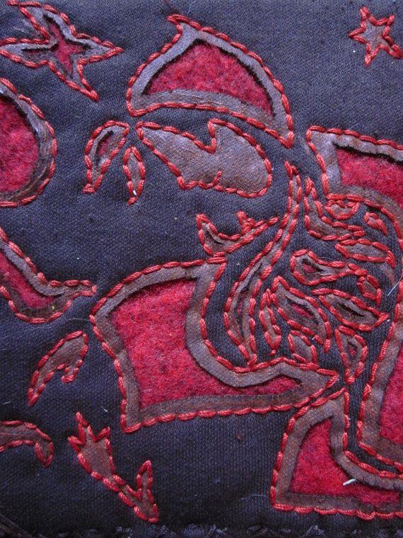 Reverse applique   Blue Oak Vintage | Embroidery | Reverse